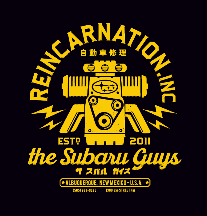 Reincarnation, Inc: The Subaru Guys